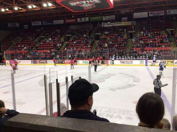 Floyd L. Maines Veterans Memorial Arena, section: 28, row: A, seat: 13