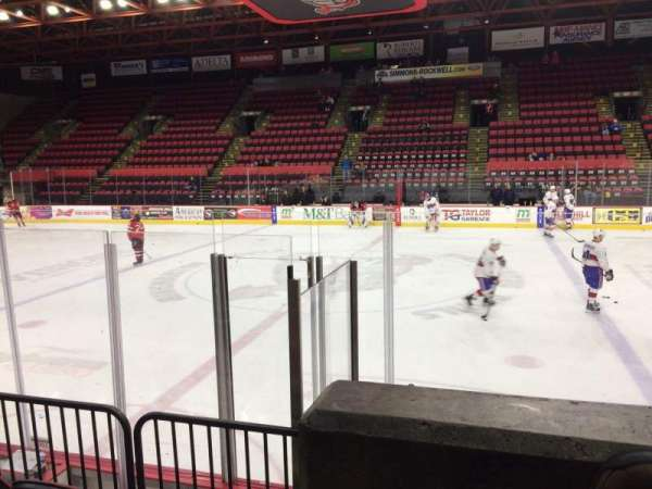 Floyd L. Maines Veterans Memorial Arena, section: 28, row: A, seat: 14