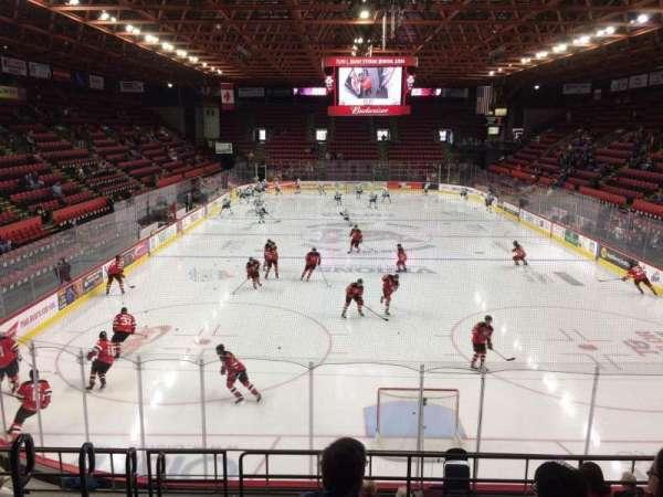 Floyd L. Maines Veterans Memorial Arena, section: 8, row: H, seat: 15