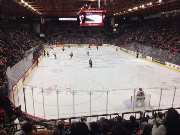 Floyd L. Maines Veterans Memorial Arena, section: 9, row: H, seat: 2