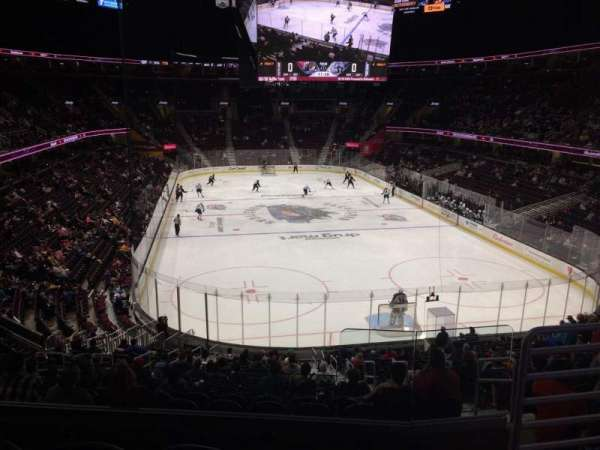 Quicken Loans Arena, section: 116, row: 23, seat: 11