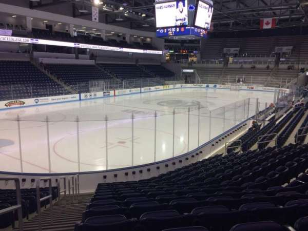 Pegula Ice Arena, section: 112, row: N, seat: 27