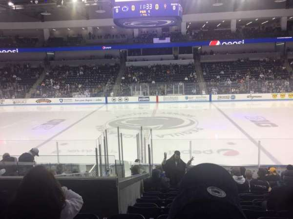Pegula Ice Arena, section: 110, row: N, seat: 10