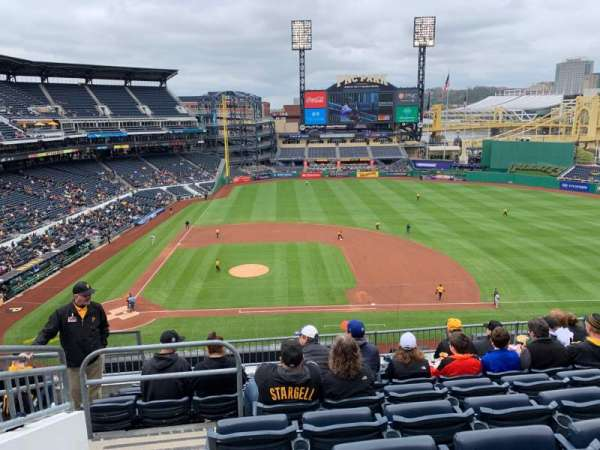 PNC Park, section: 210, row: H, seat: 14