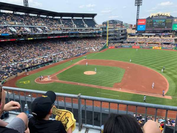 PNC Park, section: 209, row: B, seat: 10