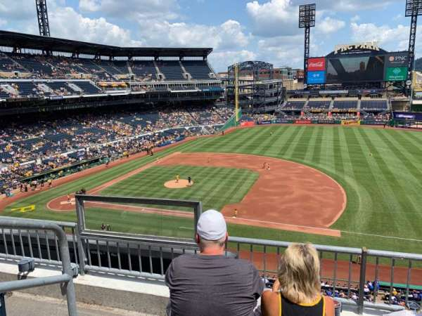 PNC Park, section: 208, row: C, seat: 18