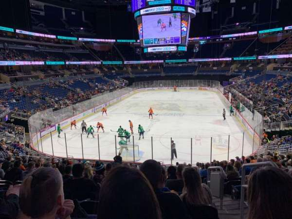 Amway Center, section: 101, row: 24, seat: 2