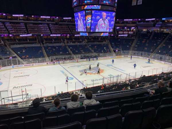 Amway Center, section: Club E, row: 5, seat: 17