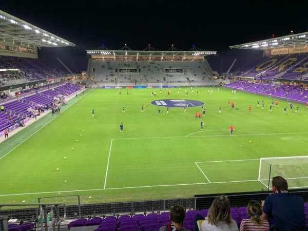 Exploria Stadium, section: 105, row: K, seat: 20