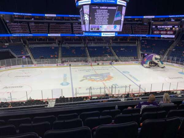 Amway Center, section: Club D, row: 5, seat: 15