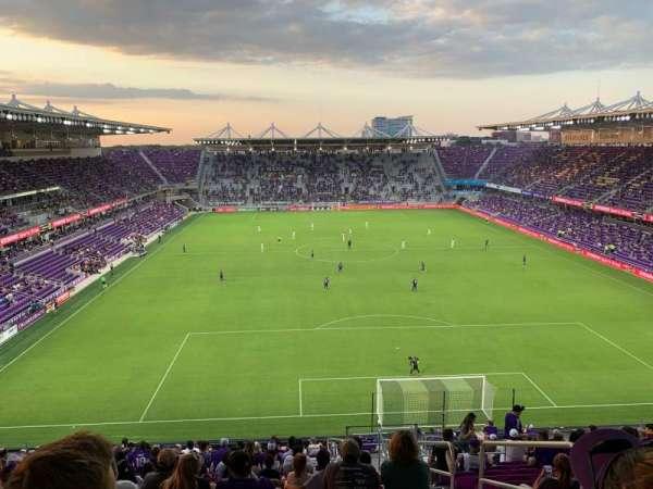 Exploria Stadium, section: 105, row: X, seat: 3