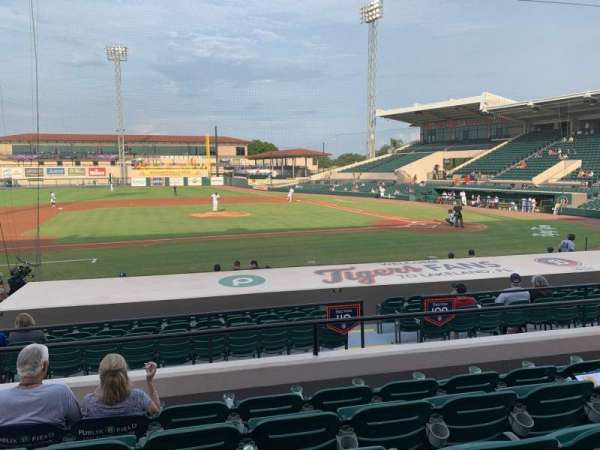 Joker Marchant Stadium, section: 210, row: E, seat: 23
