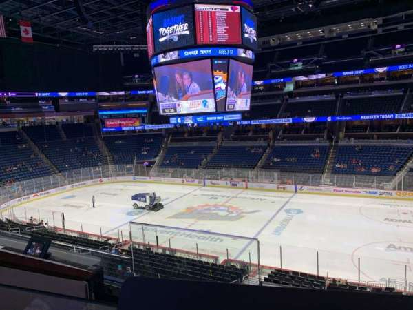 Amway Center, section: Loge Box D, row: 2, seat: 2