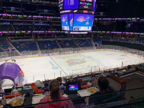 Amway Center, section: LOGE BOX K, row: 4, seat: 2