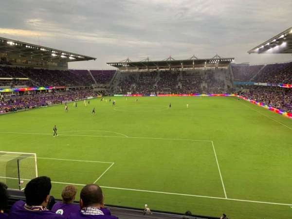 Exploria Stadium, section: 103, row: D, seat: 4