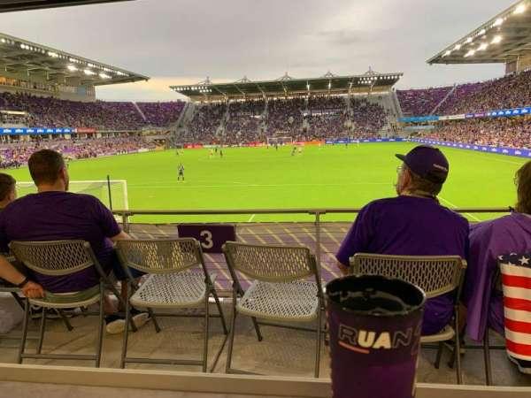 Exploria Stadium, section: 3, row: P, seat: 13