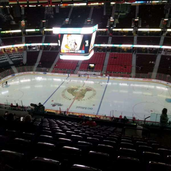 Canadian Tire Centre, section: 307, row: r, seat: 3