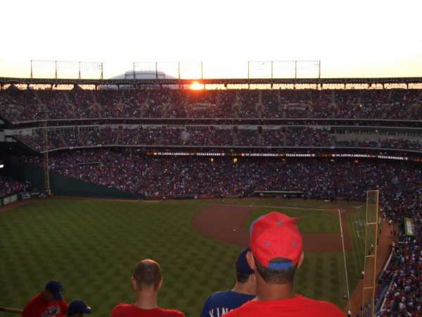 Globe Life Park in Arlington, section: 306, row: 18, seat: 6