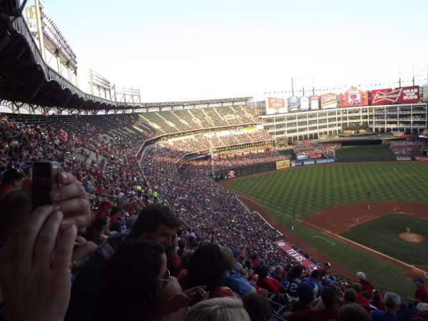 Globe Life Park in Arlington, section: 324, row: 18, seat: 22