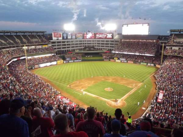 Globe Life Park in Arlington, section: 324, row: 16, seat: 20