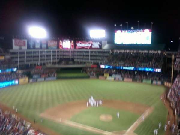 Globe Life Park in Arlington, section: 324, row: 13, seat: 6