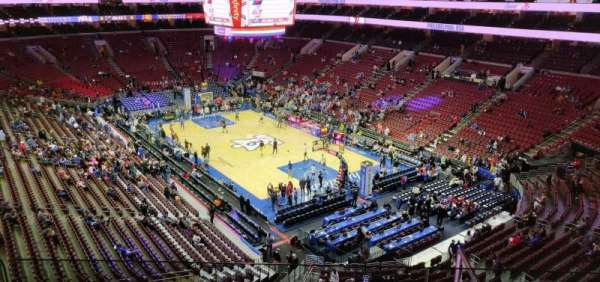 Wells Fargo Center, section: 217, row: 3, seat: 9