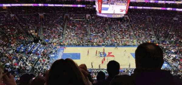 Wells Fargo Center, section: 224, row: 6, seat: 10
