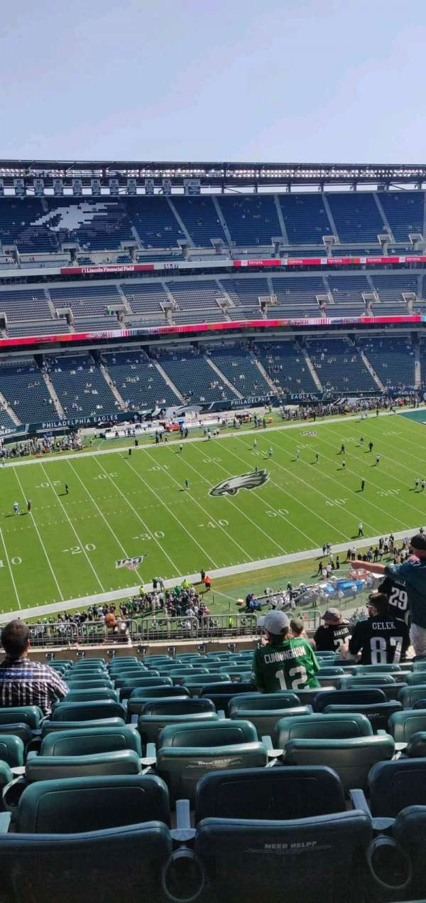 Lincoln Financial Field, section: 242, row: 16, seat: 8