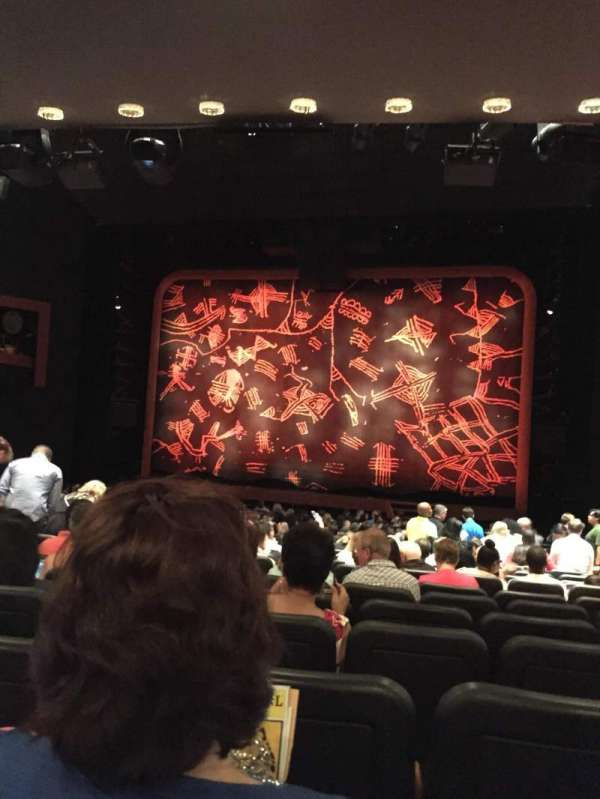Minskoff Theatre, section: Orchestra C, row: T, seat: 128