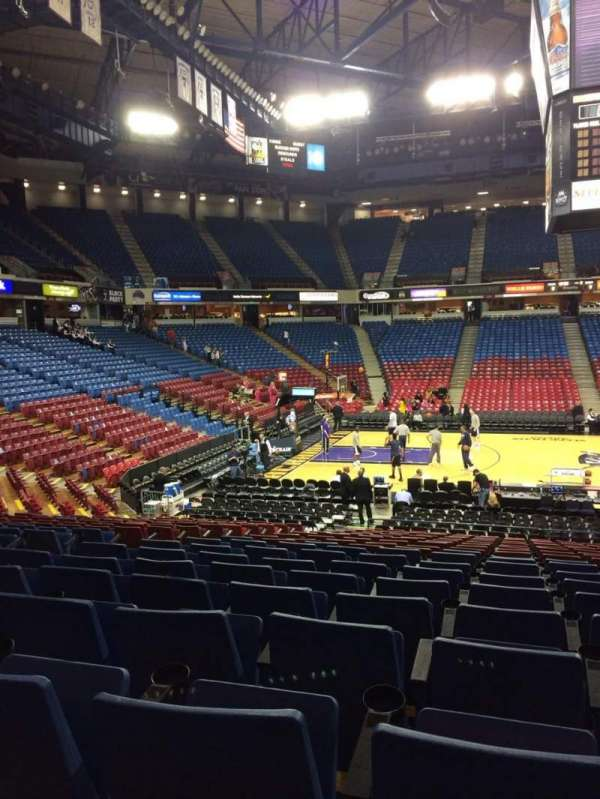 Sleep Train Arena, section: 115, row: U, seat: 8