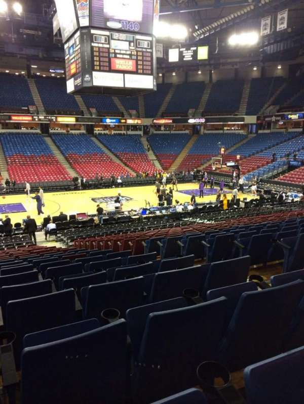 Sleep Train Arena, section: 116, row: U, seat: 5
