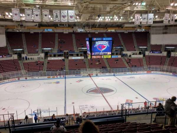 North Charleston Coliseum, section: 232, row: M, seat: 8