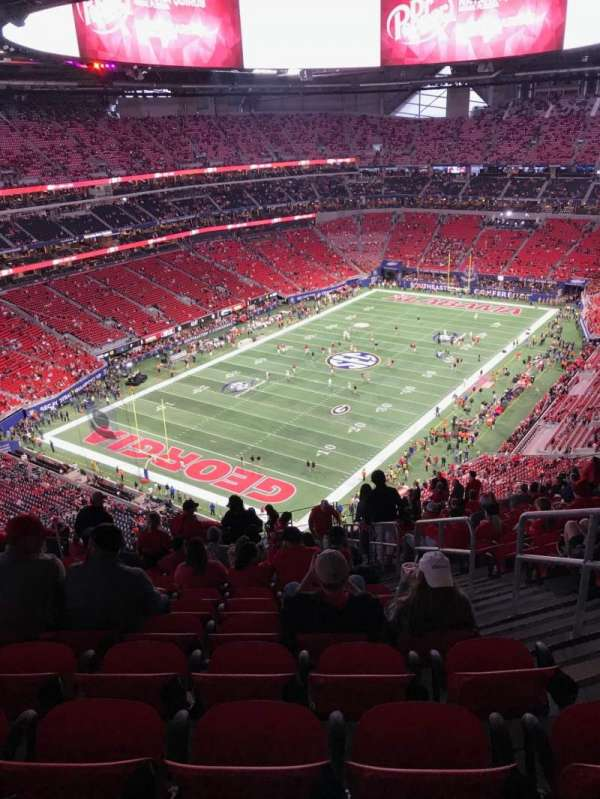 Mercedes-Benz Stadium, section: 349, row: 20, seat: 3