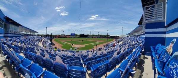 TD Ballpark, section: 207R, row: 9, seat: 8