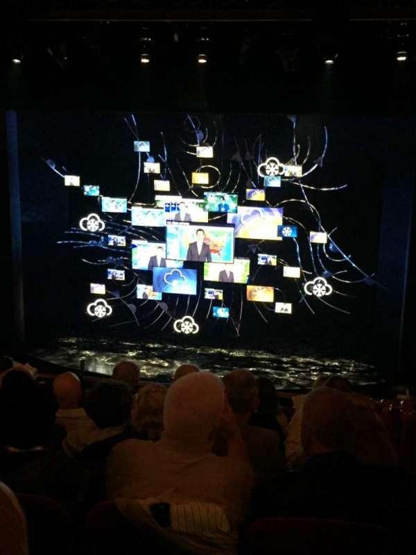 August Wilson Theatre, section: Mezz, row: G, seat: 114