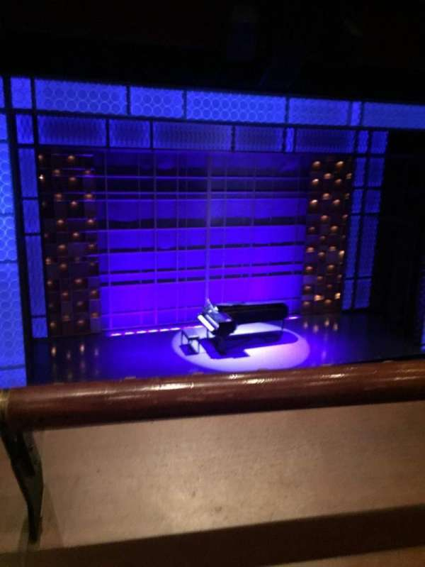 Stephen Sondheim Theatre, section: Mezzanine C, row: A, seat: 115