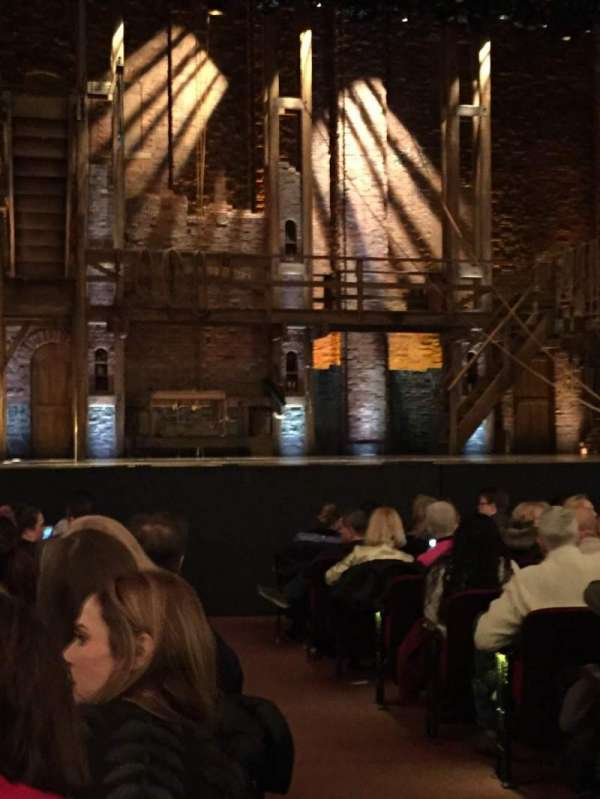 CIBC Theatre, section: Orchestra L, row: N, seat: 2