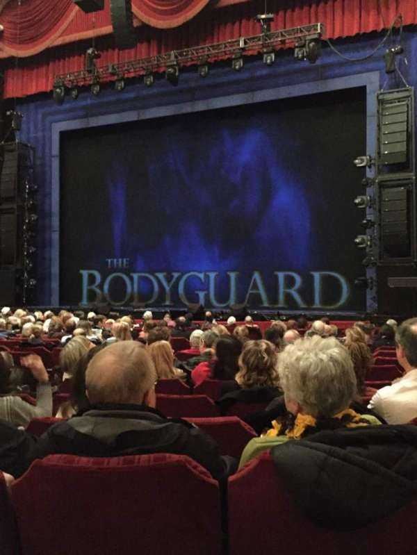 Nederlander Theatre (Chicago), section: Orchestra R, row: R, seat: 8