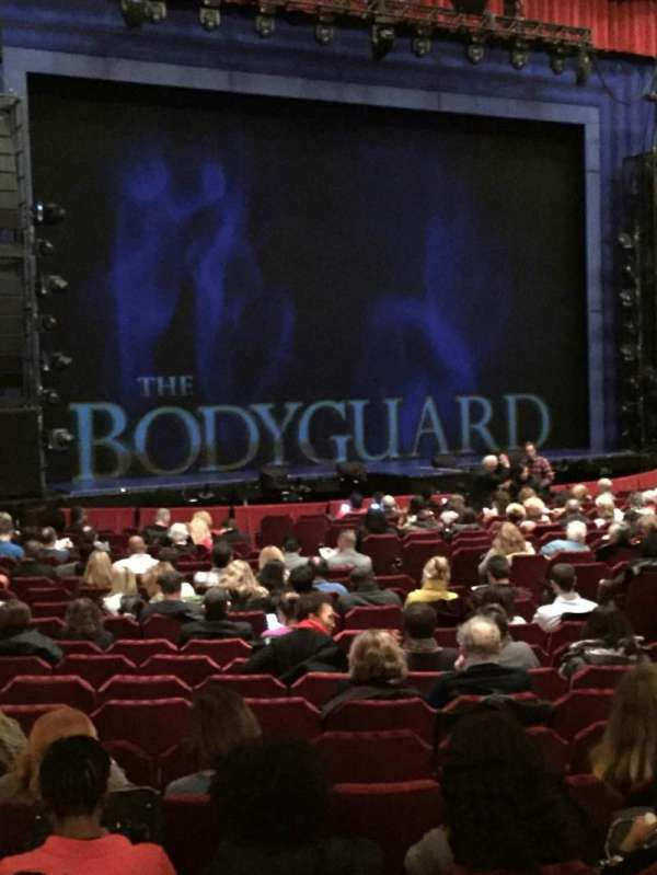 Nederlander Theatre (Chicago), section: Orchestra L, row: W, seat: 21