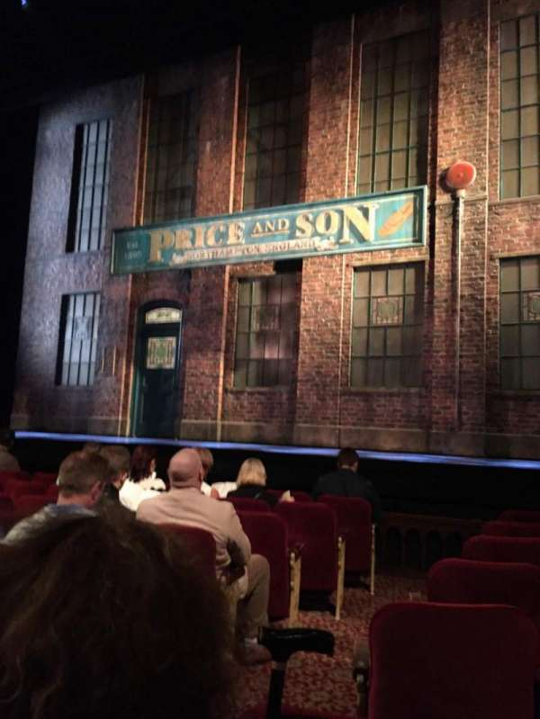 Al Hirschfeld Theatre, section: Orchestra R, row: H, seat: 4