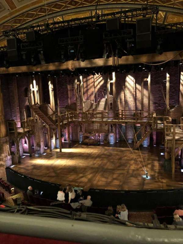 Richard Rodgers Theatre, section: Mezzanine R, row: A, seat: 2