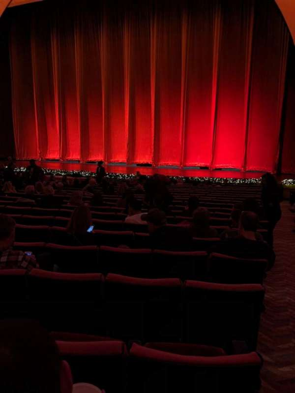 Radio City Music Hall Section Orchestra 3 Row Uu Seat