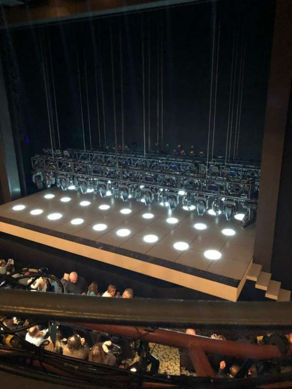 Lunt-Fontanne Theatre, section: Front Mezzanine R, row: A, seat: 10