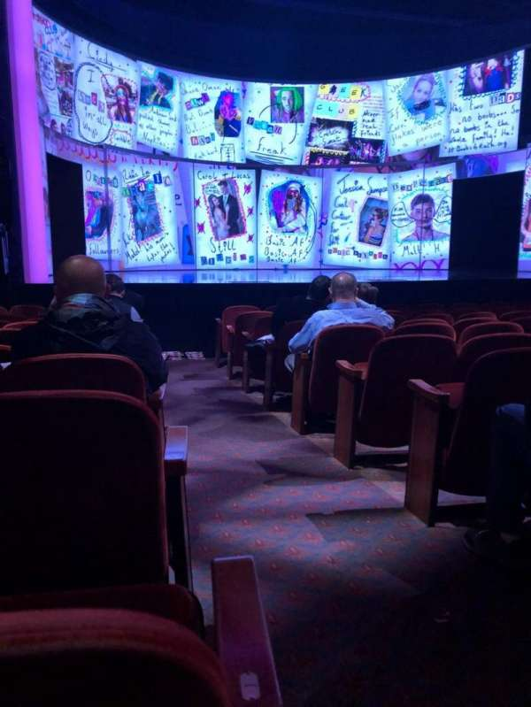 August Wilson Theatre, section: Orch, row: K, seat: 1