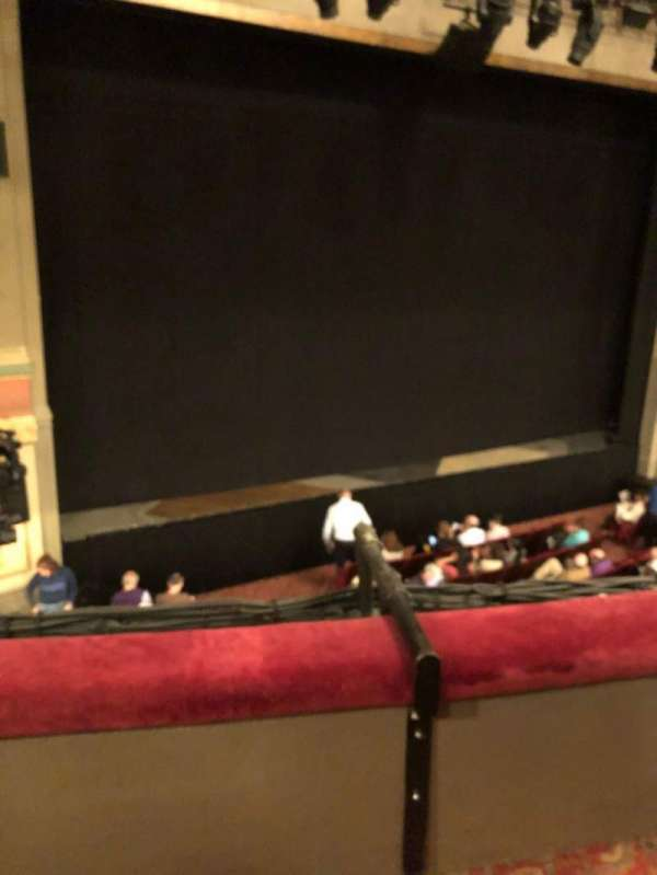 Neil Simon Theatre, section: Front Mezzanine L, row: B, seat: 1