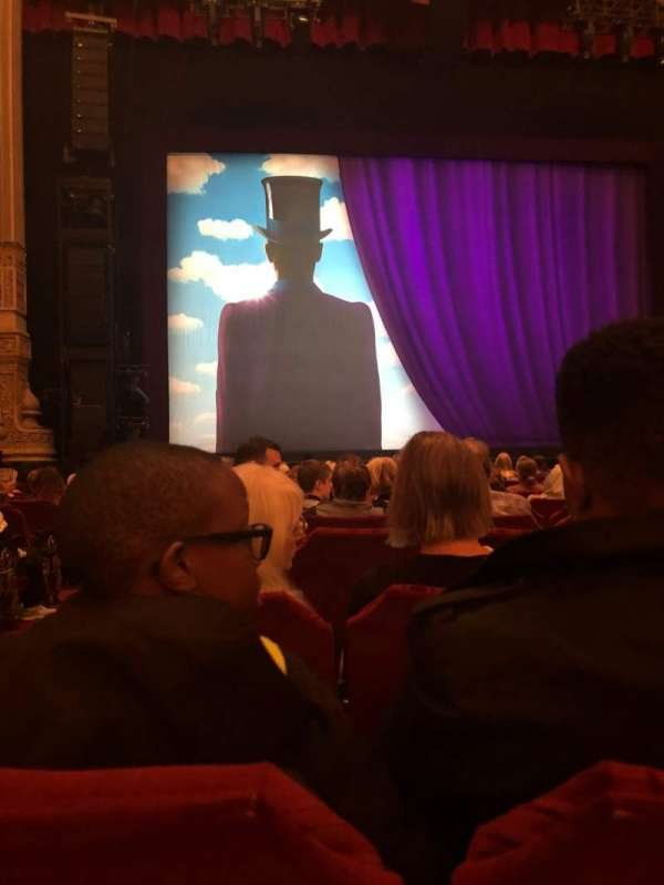 Nederlander Theatre (Chicago), section: Orchestra C, row: N, seat: 101