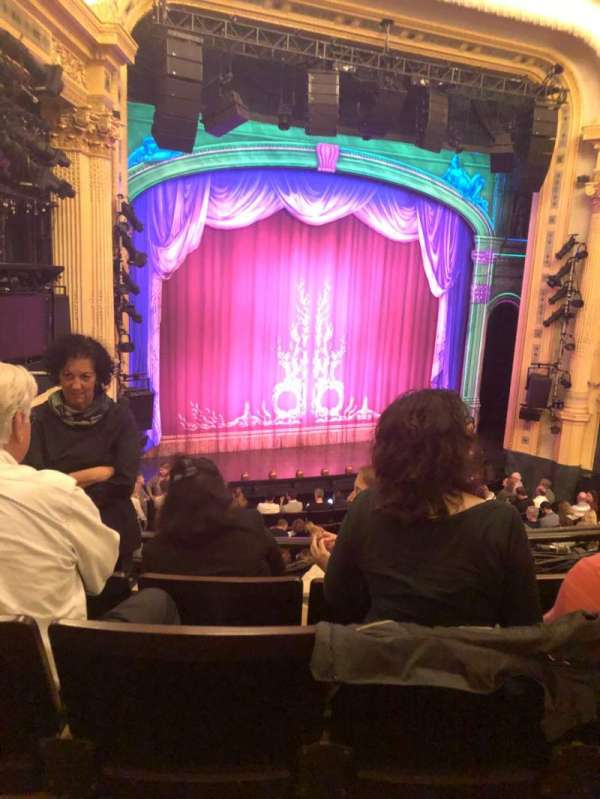 Hudson Theatre, section: Dress Circle L, row: D, seat: 17