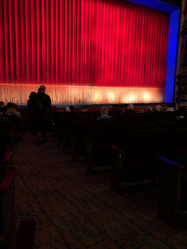 Longacre Theatre, section: Orchestra L, row: L, seat: 2