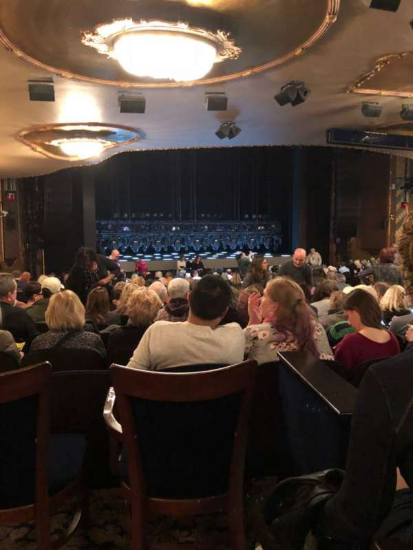 Lunt-Fontanne Theatre, section: Orch, row: Y, seat: 18