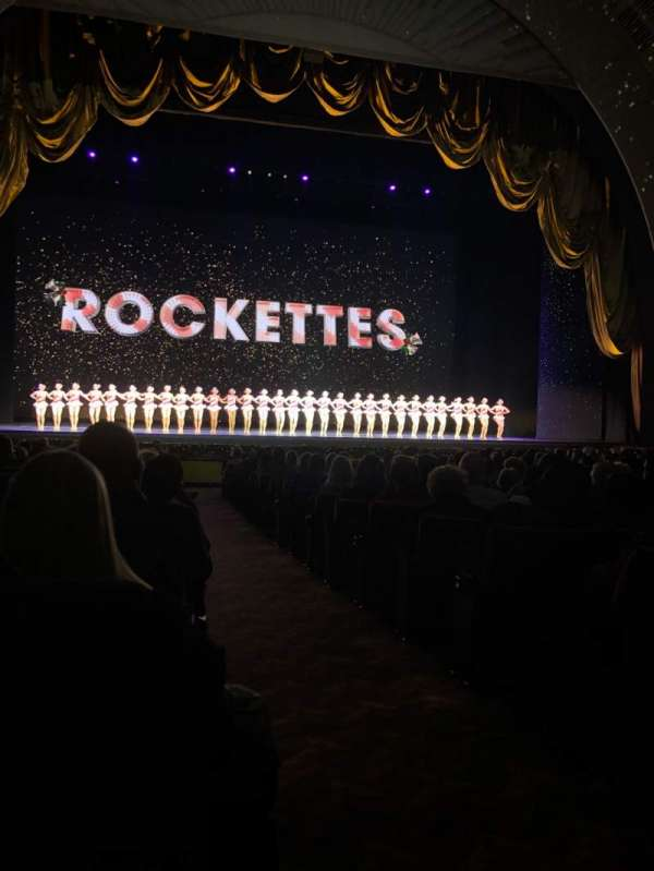 Radio City Music Hall, section: Orch, row: UU, seat: 501